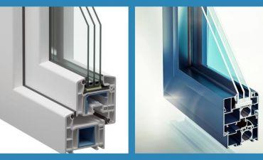Пластиковые и алюминиевые окна: отличия, плюсы и минусы