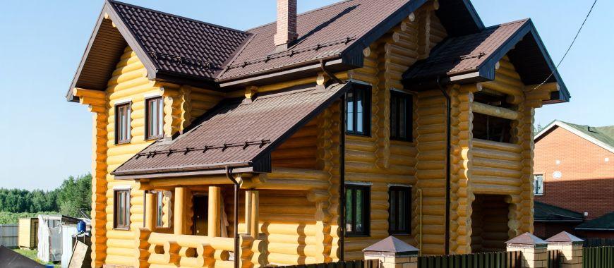Обсада (окосячка) оконных проемов в деревянных домах и установка деревянных окон из лиственницы